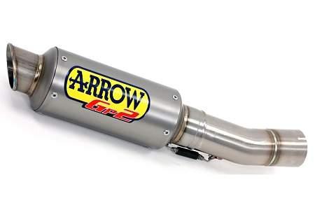 Arrow GP2 Ti Race Silencer