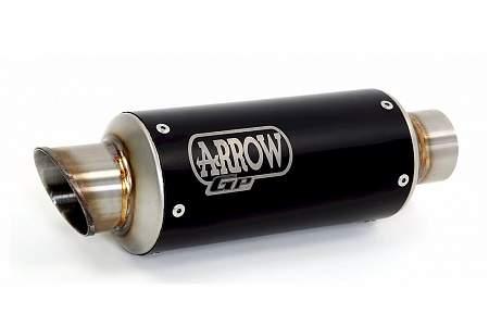 Arrow GP2 Dark Steel Race Silencer