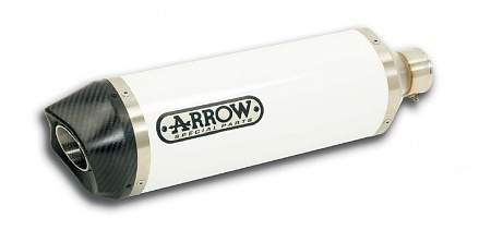 Arrow White Alu Carbon