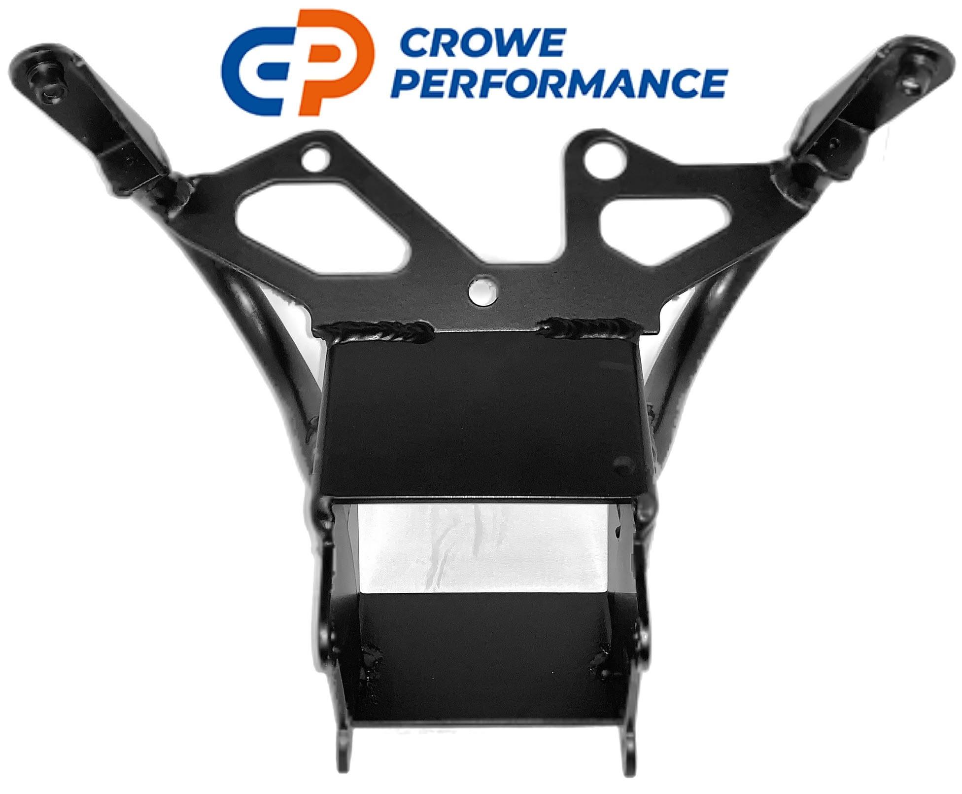 Bmw S1000rr Aluminium Front Sub Frame Clock Bracket In Black